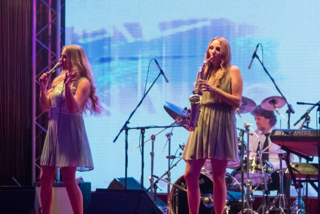 Party-Band Köln, Düsseldorf mit Saxofonistin