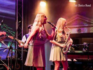 """Partyband """"1st Choice Band"""" aus Köln bei einer Firmenfeier"""