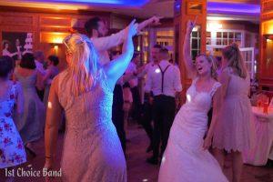 Die Party geht ab, mit der Hochzeitsband 1st Choice Band