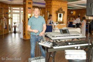 Eintreffen der Musiker, Partyband Düsseldorf