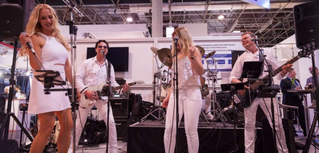 Messe Partyband Duesseldorf Live bei Standparty